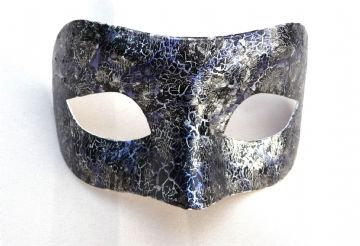 Genuine Venetian Designer Blue  Mask